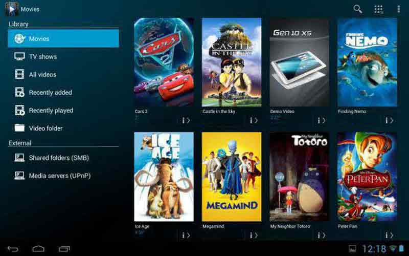 Reproductor de vídeo Archos Video Player para Android