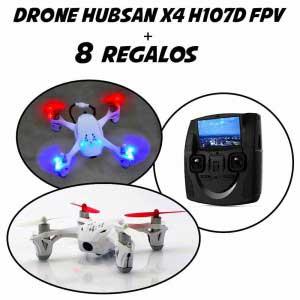 Drone con cámara HUBSAN X4 HD107D FPV