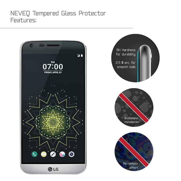 Cristal templado para LG G5 NEVEQ®