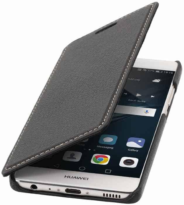 Funda Huawei P9 - StilGut de piel