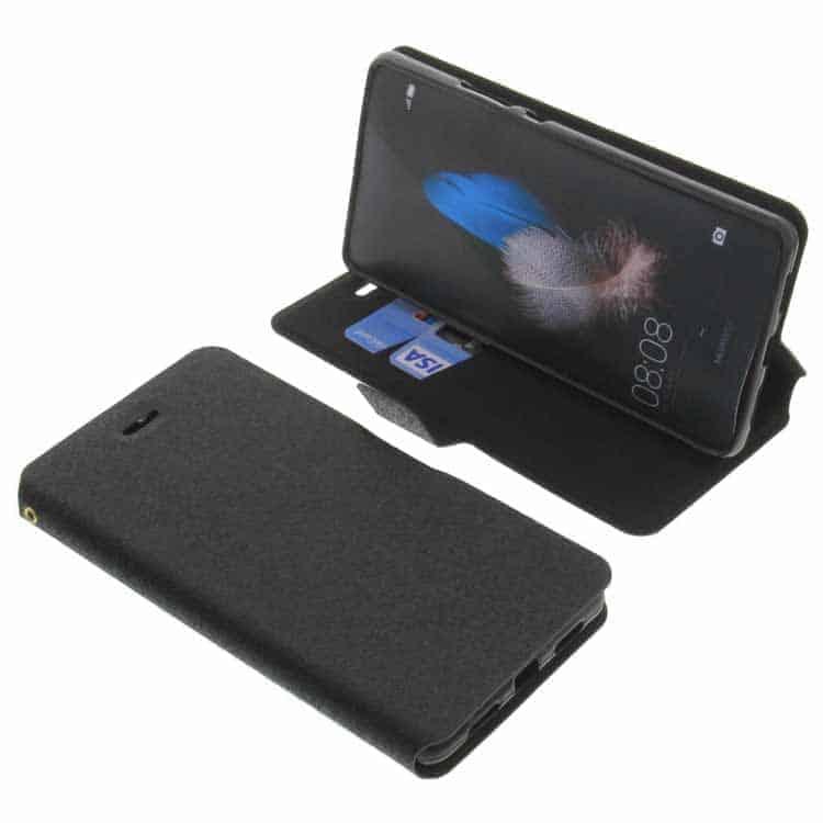Funda tipo libro con tapa y soporte para el Huawei P9 Lite