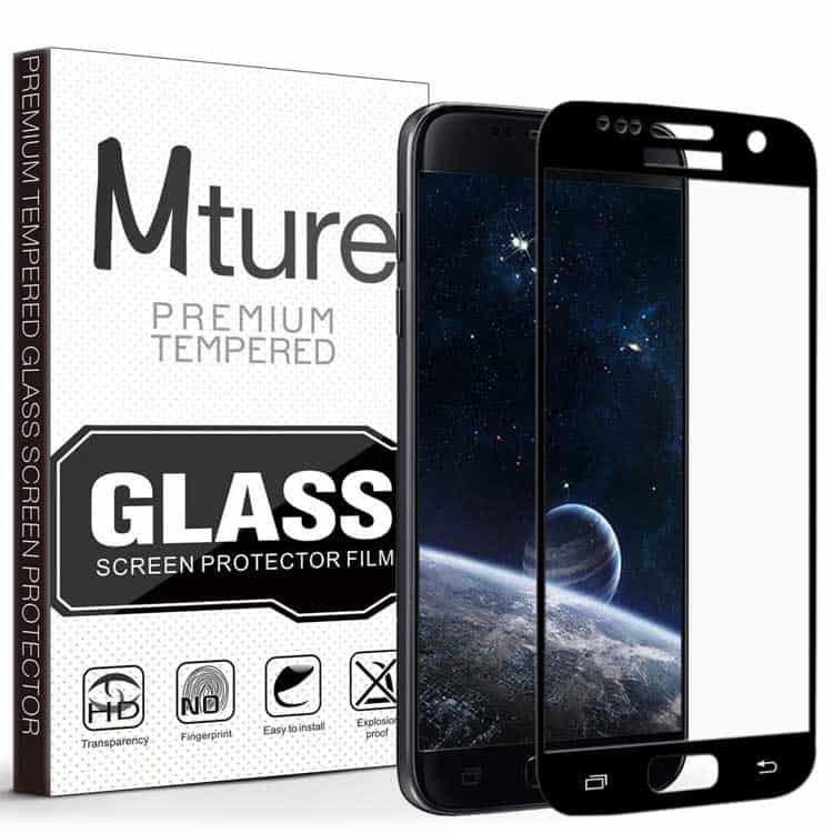 Protector de pantalla de cristal templado para el Samsung Galaxy S7 Mture