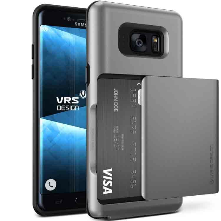 Funda protectora con tarjetero para el Samsung Galaxy Note 7