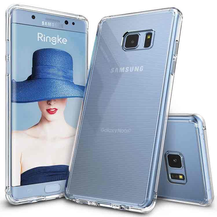 Funda protectora transparente para Samsung Galaxy Note 7