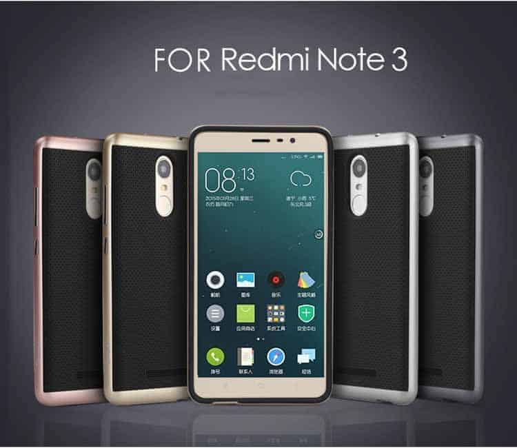 Funda de dos partes para el Xiaomi Redmi Note 3