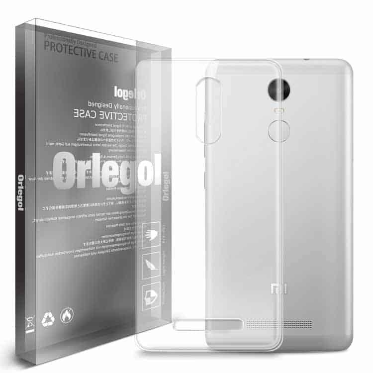 Funda de protección transparente para Xiaomi Redmi Note 3