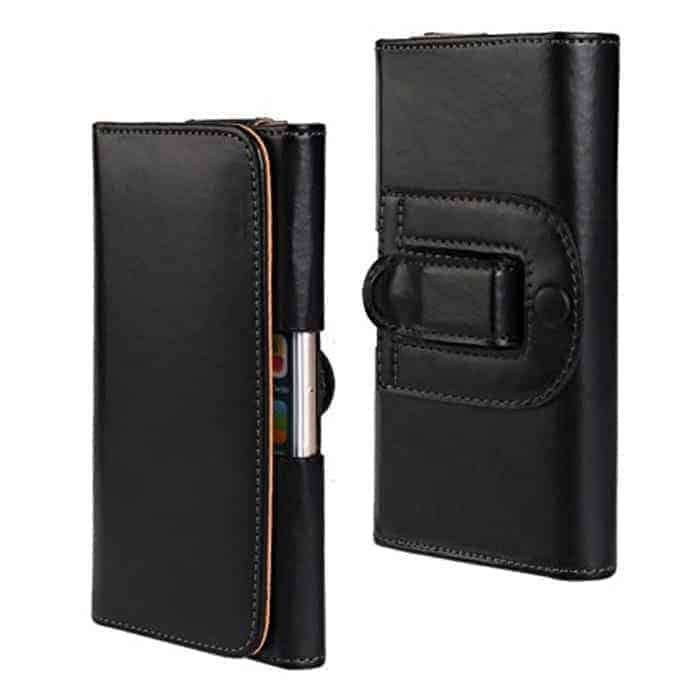 Funda de cuero para cinturón Sony Xperia XZ