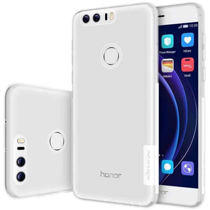 Funda para Huawei Honor 8 - Transparente de la marca Nillkin