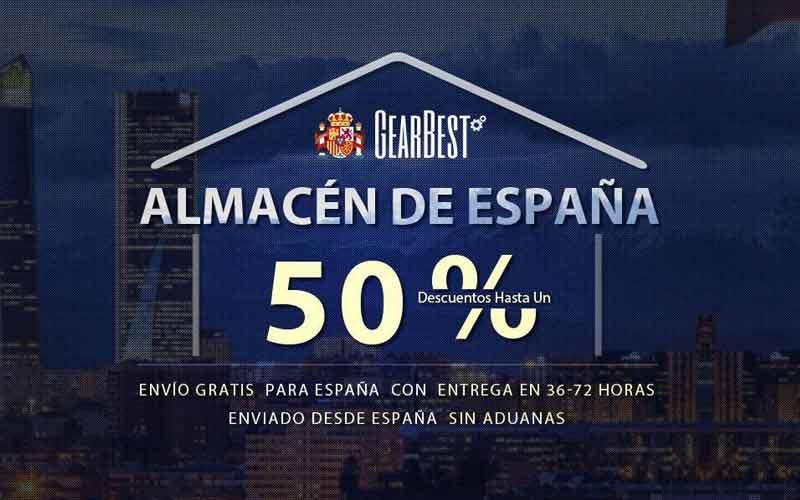 GearBest inagura almacén en España con envíos gratis
