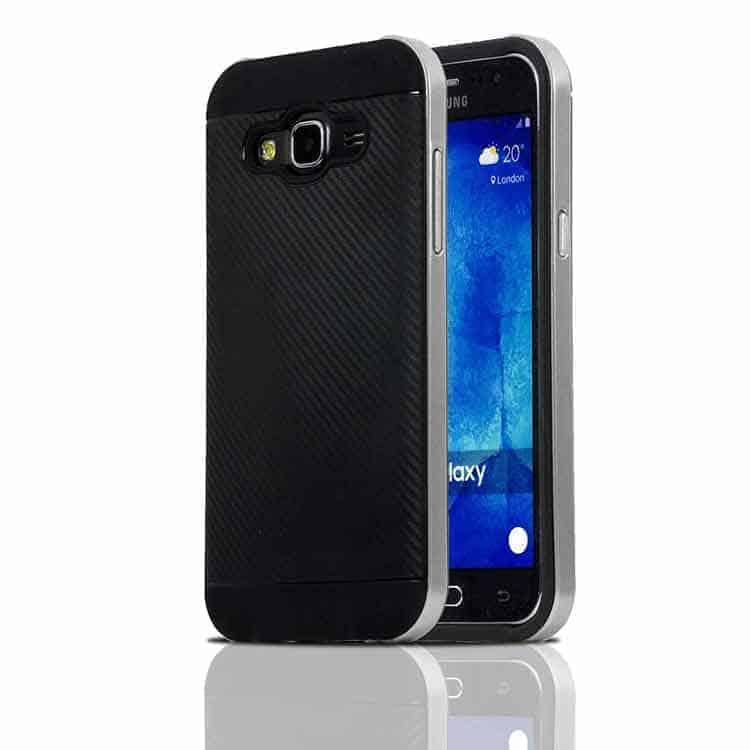 Carcasa de protección híbrida para Samsung Galaxy J7