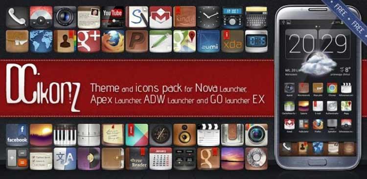 Pack de iconos - DCiconZ