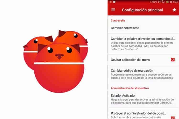 Cerberus Android perdido