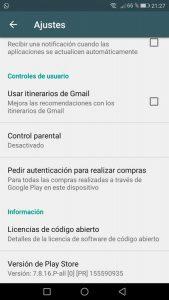 control-parental-google-play