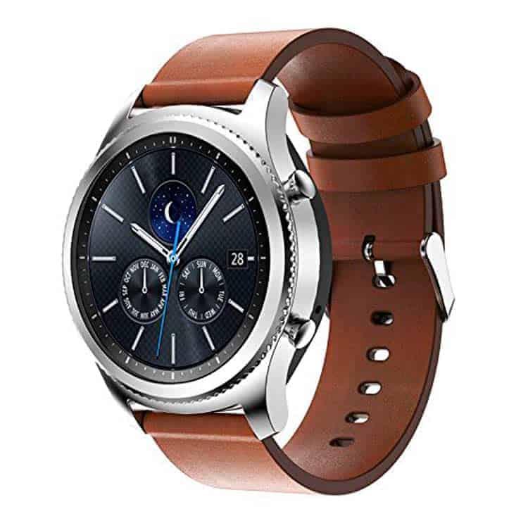 Correa para Samsung Gear S3 Pinhen de cuero