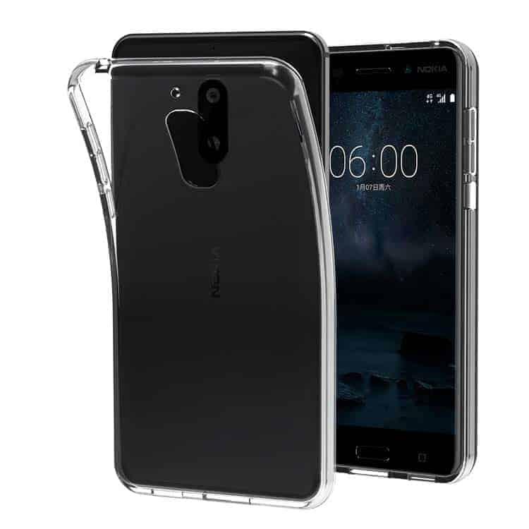Funda transparente para Nokia 6 iVoler