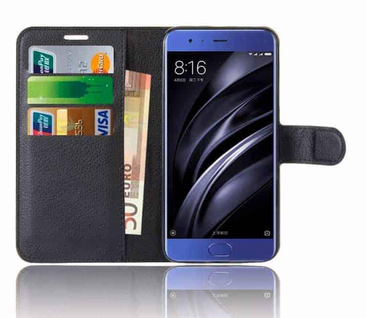 Funda para Xiaomi Mi 6 de cuero Anzhao