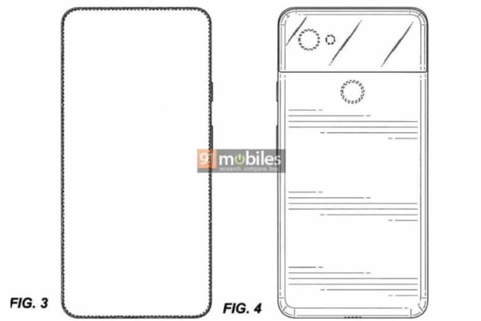 google pixel 4 pixel 4 xl patente (5)
