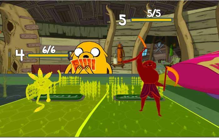 guerra-de-cartas-hora-de-aventuras-juego-parecido-clash-royale-android