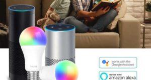 mejores-bombillas-inteligentes-inalambricas-wifi-compatibles-asistente-google-amazon-alexa